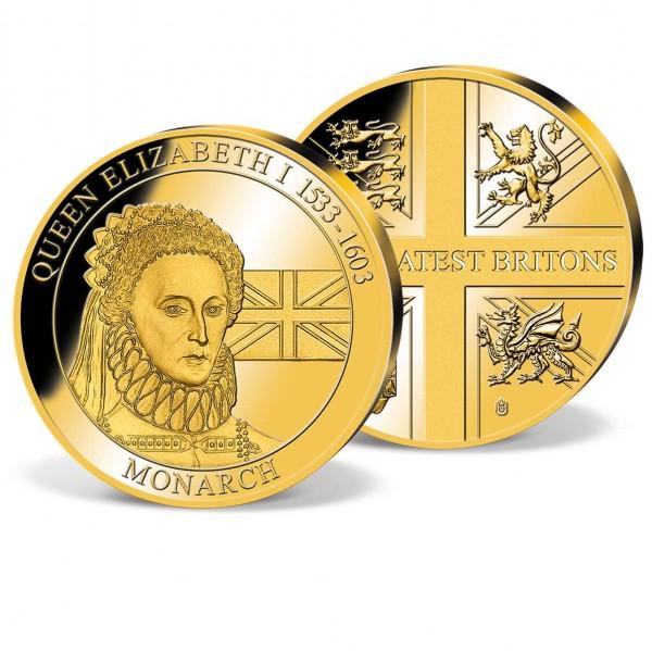 Queen Elizabeth I Commemorative Gold Strike UK_2160319_1