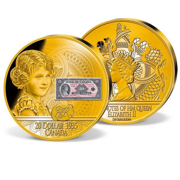 'First Ever Banknote Queen Elizabeth II 1935' Commemorative Strike UK_1942202_1
