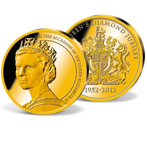 '1952 The Accession' Commemorative Gold Strike UK_9172805_1