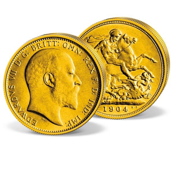 Edward VII Gold Sovereign UK_2460038_1