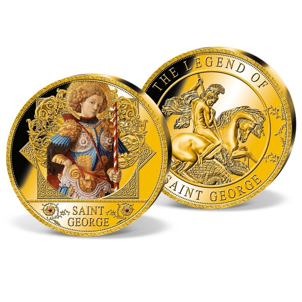 'St George and the Dragon' Ultra-large Commemorative Strike UK_9444951_1