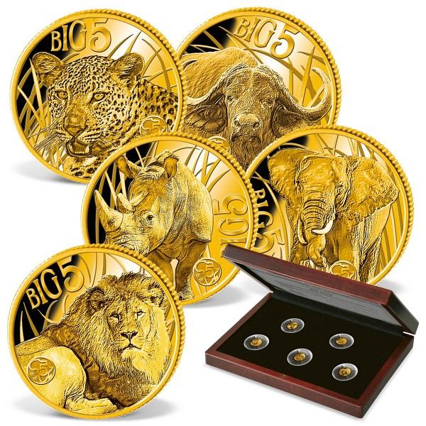 'African Big Five' Gold Coin Set UK_1739445_1