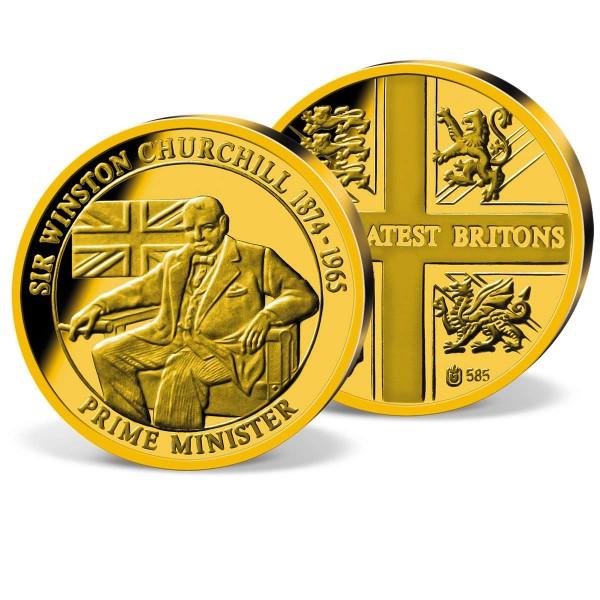 'Sir Winston Churchill' Commemorative Gold Strike UK_2160324_1