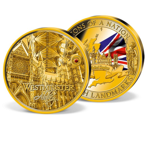 'Westminster Abbey' Supersize Commemorative Strike UK_8328252_1