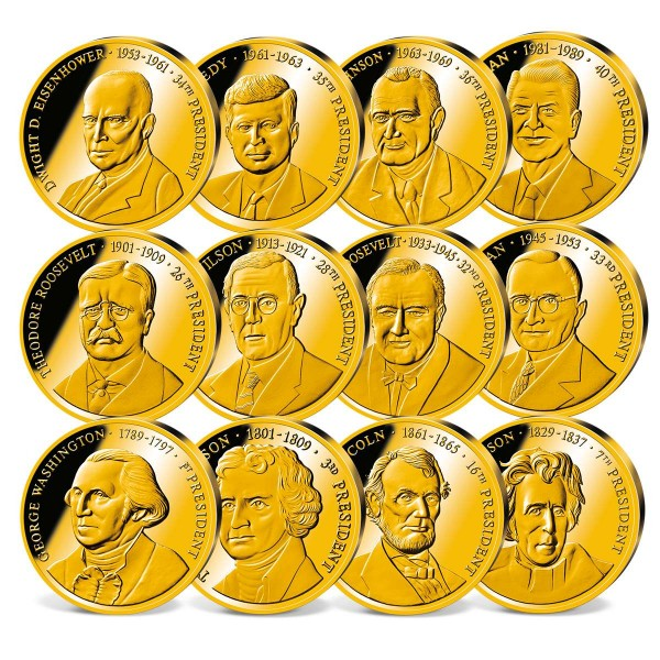 The 'Greatest U.S. Presidents' Commemorative Set UK_1711416_1