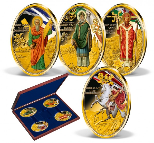 'The Patron Saints of United Kingdom' Complete Set UK_9781410_1