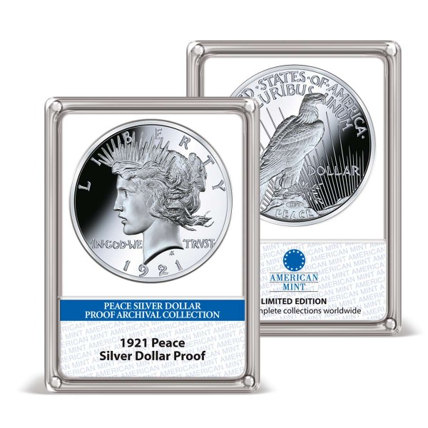 '1921 Peace Silver Dollar' Proof Archival Edition UK_8202129_1