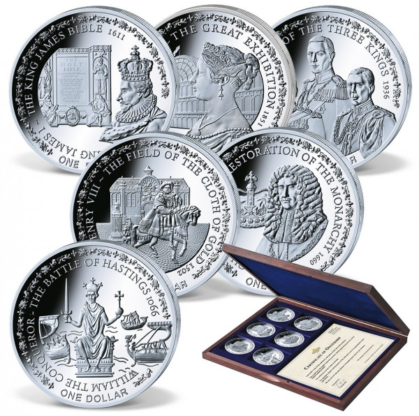 'A Royal History' Complete Coin Set UK_1683040_1