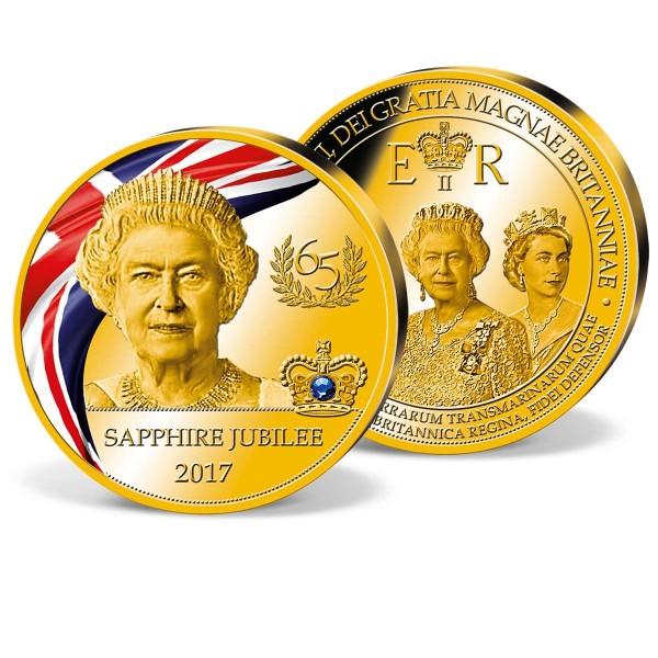 'Queen Elizabeth II Sapphire Jubilee' Anniversary Strike UK_9173183_1