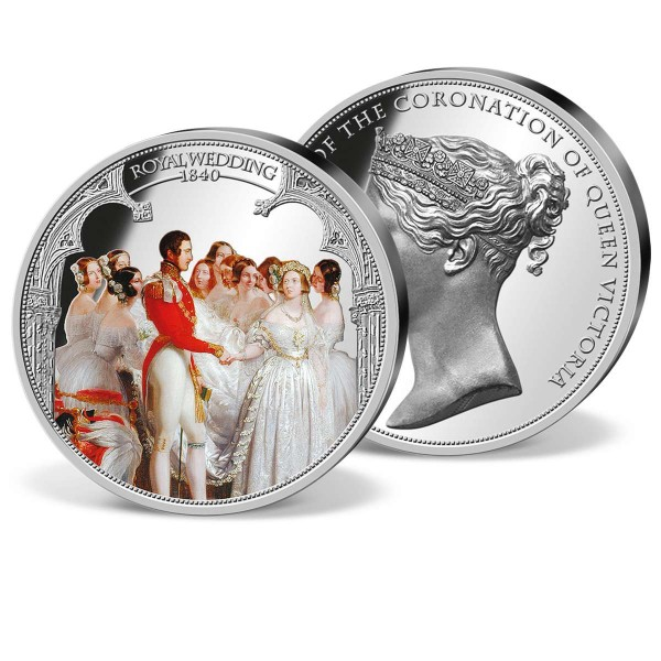 'The Queen Victoria Royal Wedding' Supersize Commemorative Strike UK_9175352_1