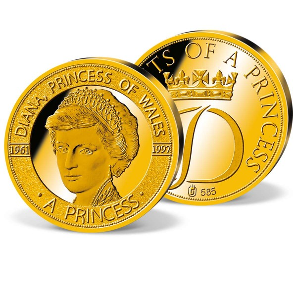 'Diana Princess of Wales' Commemorative Gold Strike UK_1950803_1