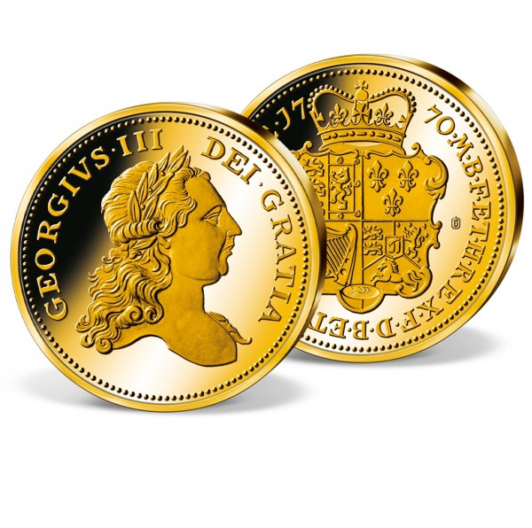 'George III 5 Gold Guineas' Patern Replica UK_8200666_1
