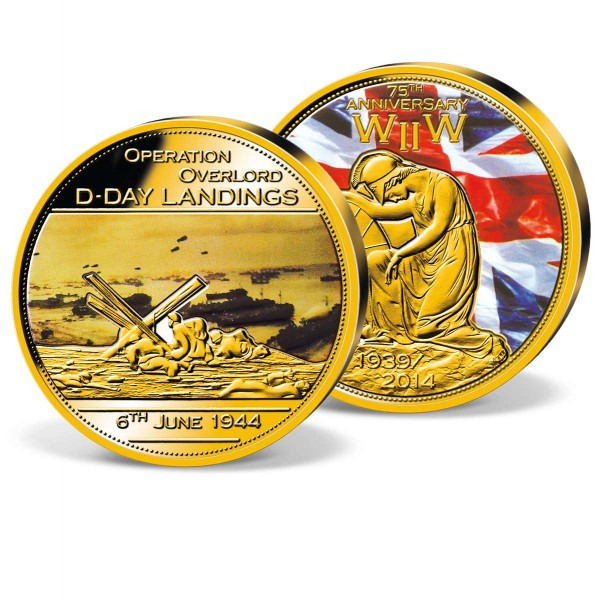 'The D-Day Anniversary' Commemorative Strike UK_9444605_1