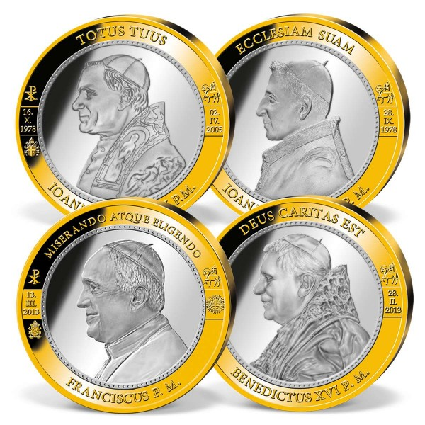 'Popes of the Modern Era' Supersize Commemorative Strike Set UK_9531720_1