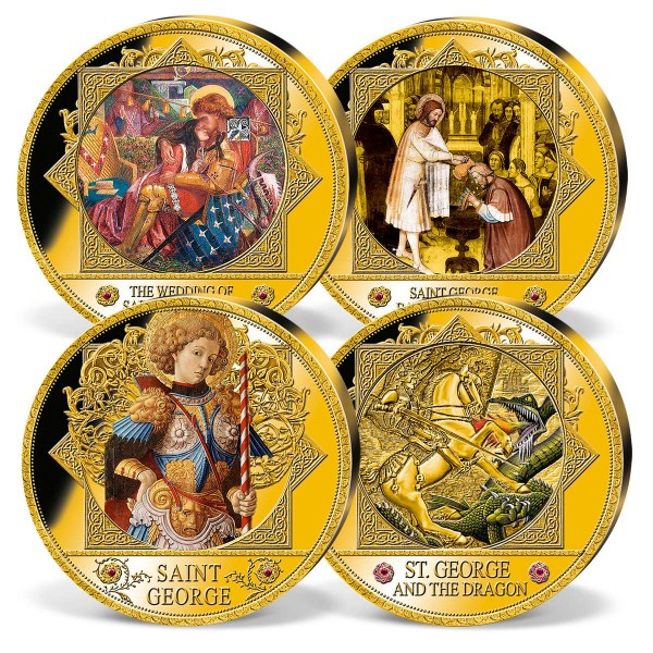 'The Legend of Saint George' Ultra Large Commemorative Strike Set UK_9444955_1