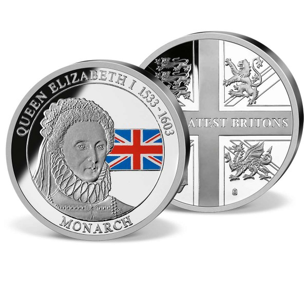 Queen Elizabeth I Commemorative Strike UK_1952009_1