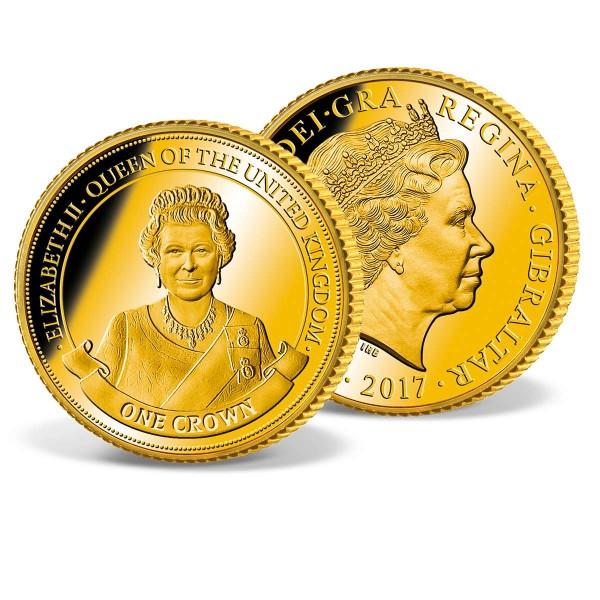 One Crown Coin Gibraltar 'Elizabeth II' UK_1683206_1