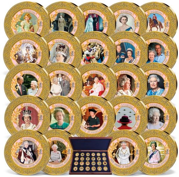 'Historic moments of Queen Elizabeth's reign' Complete Set UK_9534730_1