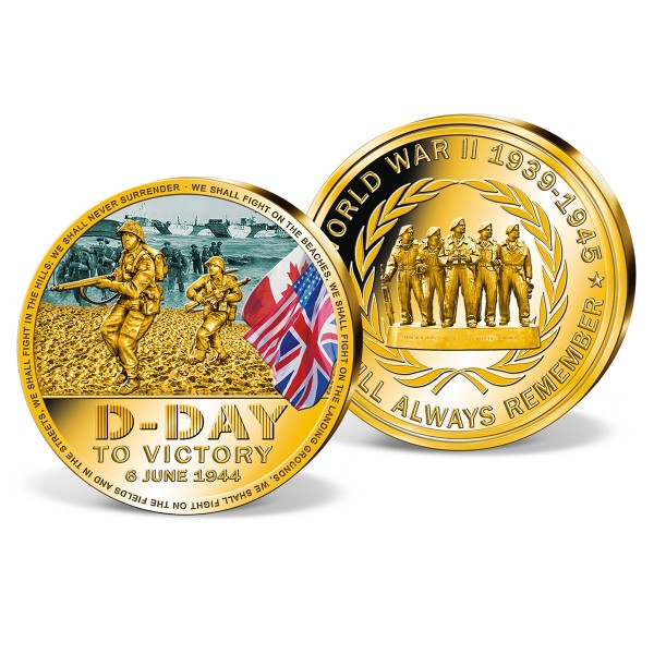 The '75th Anniversary of D-Day' Commemorative Strike UK_9445401_1