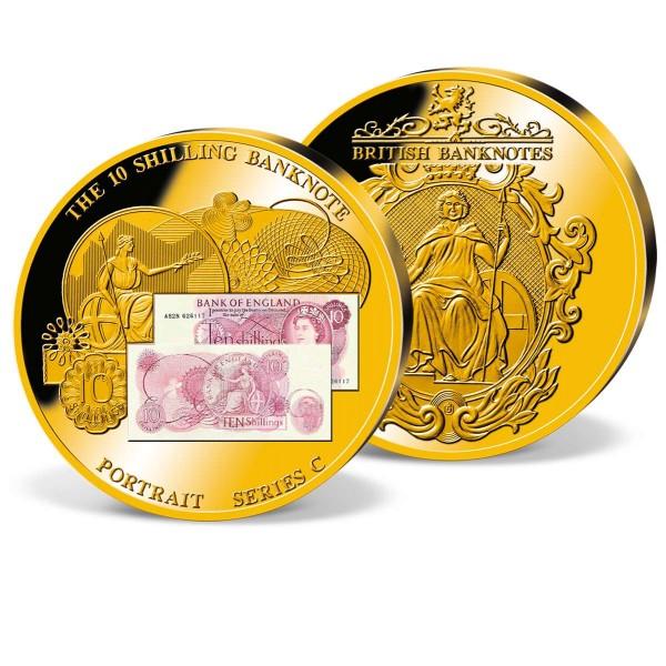 '10 Shilling Banknote' Commemorative Strike UK_1942069_1