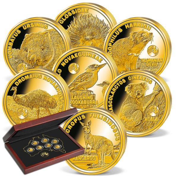 'Big 7 Australia' Gold Coin Set UK_1739100_1