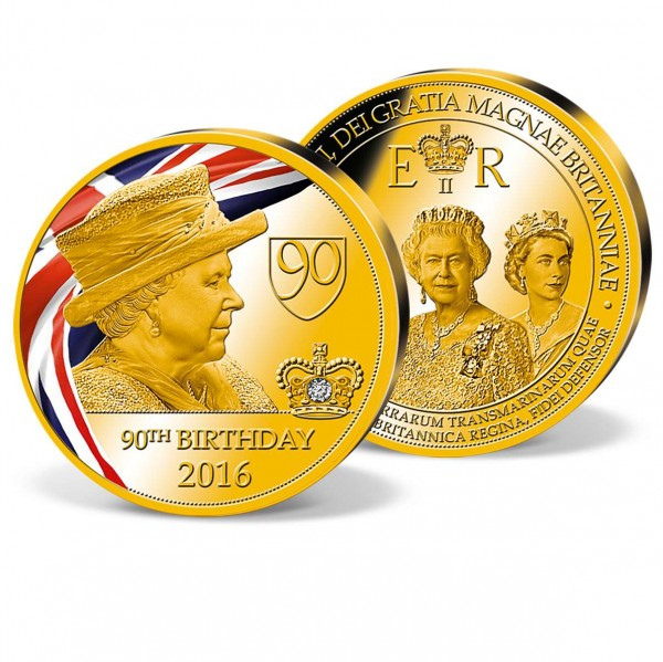'Queen Elizabeth II - 90th Birthday' Commemorative Strike UK_9173151_1