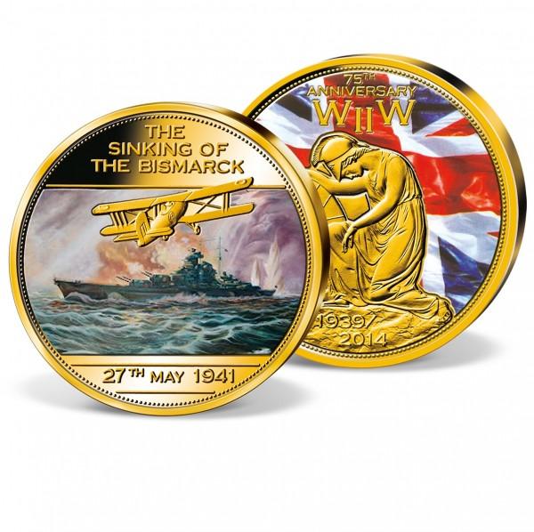 'Sinking of the Bismarck' Commemorative Strike UK_9444601_1