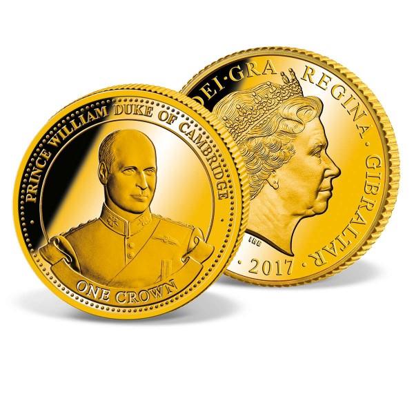 One Crown Coin Gibraltar 'William Duke of Cambridge' UK_1683210_1