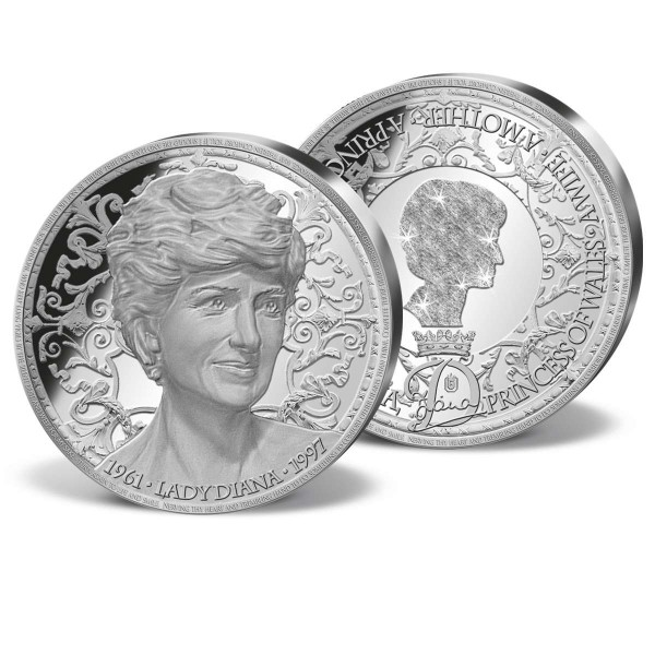 'Portrait of a Princess' Solid Silver Commemorative Strike UK_9442130_1