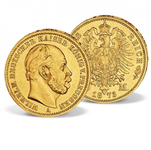 Original Historical 'William I Gold 10 Mark' Coin UK_1570005_1