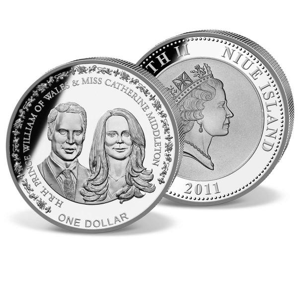 One Dollar Niue 'William and Kate' UK_1683014_1