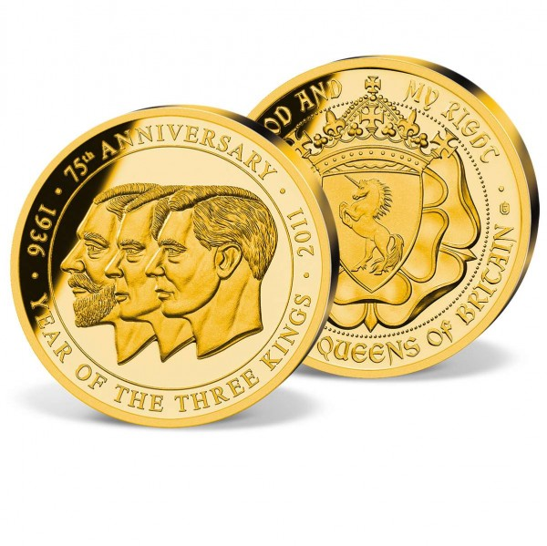 'Year of the 3 Kings 80th Anniversary' Commemorative Strike UK_1952056_1