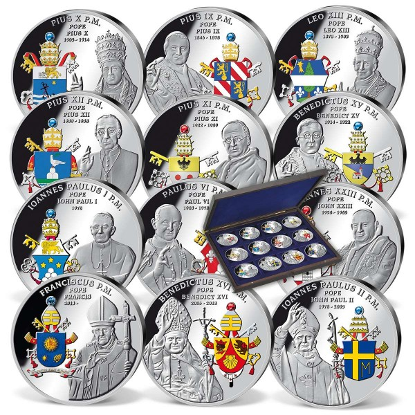 'Papal Coat of Arms' Complete Set UK_9561753_1
