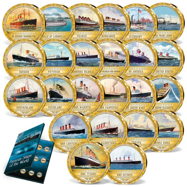 'The most famous steam ships' Complete Set UK_1962726_1