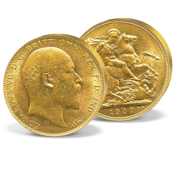 Edward VII Gold Sovereign UK_2460039_1