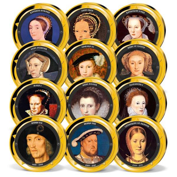 'House of Tudor' Commemorative Strike Set UK_8206073_1