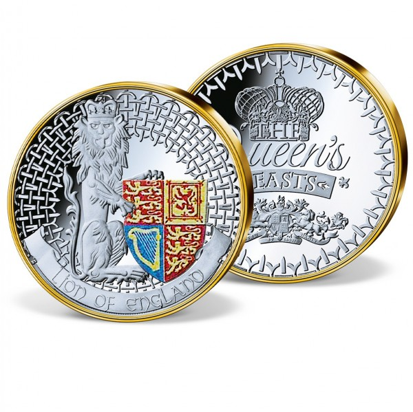'Lion of England - King of Queen's Beasts' Commemorative Strike UK_9173481_1
