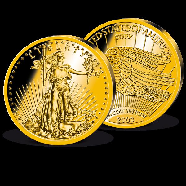 '1933 Gold Double Eagle' Replica UK_2625206_1