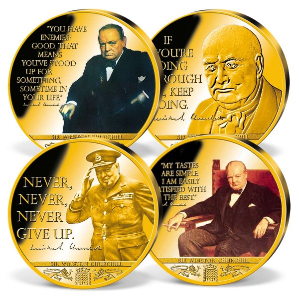 'Winston Churchill ' Commemorative Strike Set UK_1720306_1