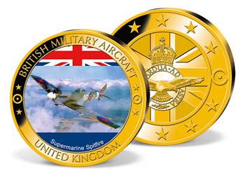 'Supermarine Spitfire' Commemorative Strike