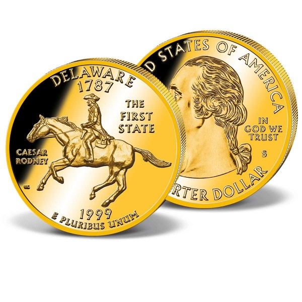 1999 Delaware Quarter USA UK_2541582_1
