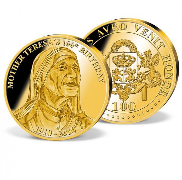 100th Birthday Mother Teresa Gold Commemorative UK_2160151_1