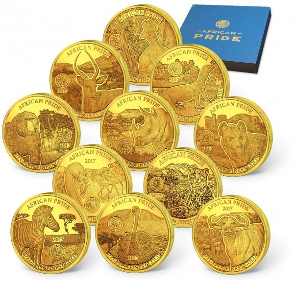 The 'African Pride' Gold Coin Set UK_1739061_1