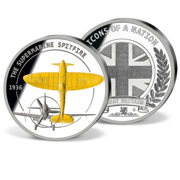 'The Supermarine Spitfire 1936' Commemorative Strike UK_8328234_1