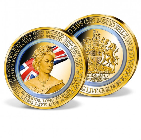 'National Anthem' Commemorative Strike with polymer ring UK_9173471_1