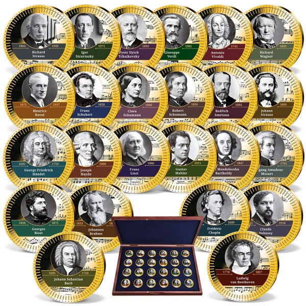 'World's Greatest Composers' Complete Set UK_9179080_1