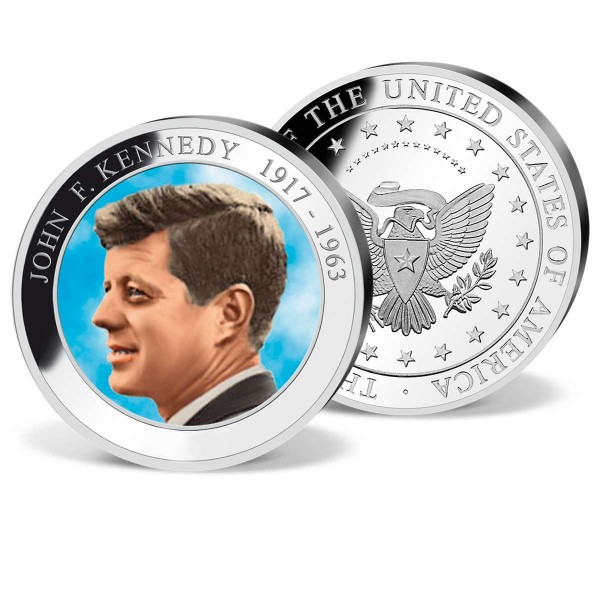 'John F. Kennedy' Colour Commemorative  Strike UK_9531250_1