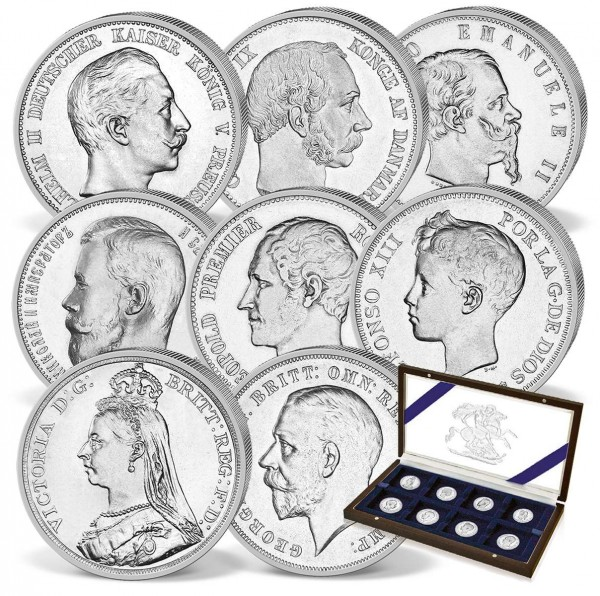 'Family Chronicles Queen Victoria' Silver Coin Set UK_2475160_1