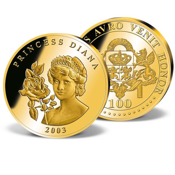'Princess Diana' Commemorative Gold Strike UK_2160010_1