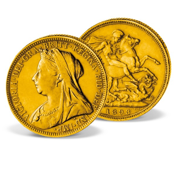 Victoria Gold Sovereign 1893-1901 UK_2460050_1